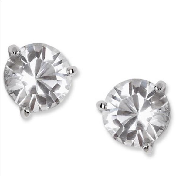 9185744a1 Swarovski Jewelry | Crystal Solitaire Stud Earrings | Poshmark